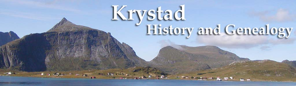 Krystad Family Genealogy Pages